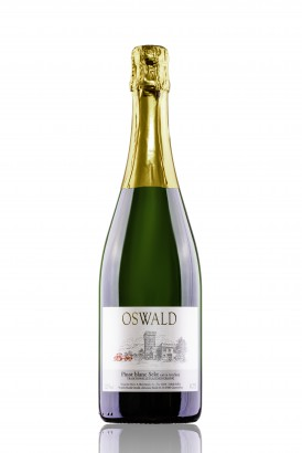 Pinot blanc Sekt extra trocken_Burghof Oswald-5625